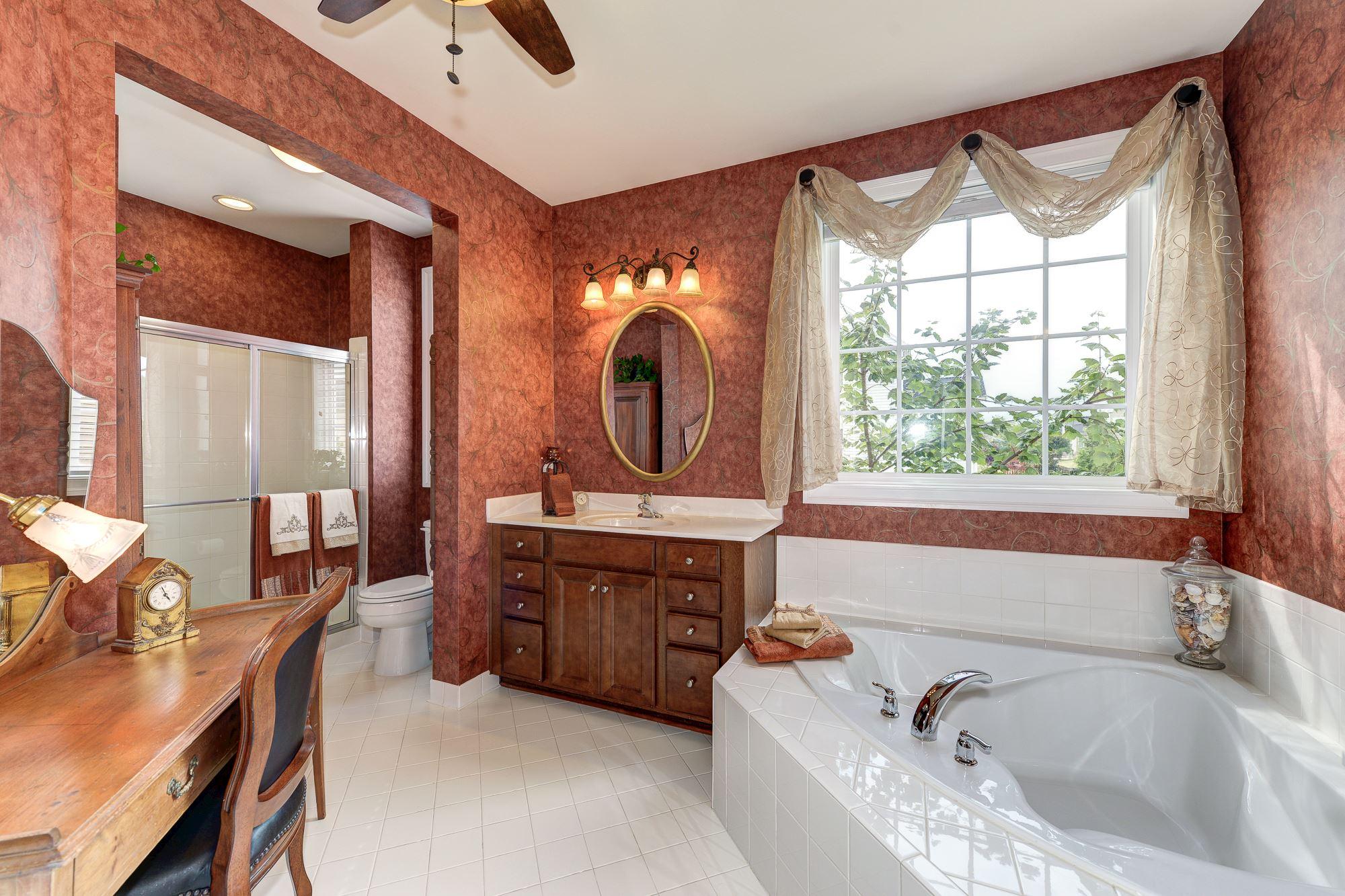 ... Master Suite W/2 Walk In Closets, 9u0027 Ceilings Throughout, Hardwood  Floors, Crown Molding,gourmet Kitchen, Media/theatre Room, Wet Bar, Great  Storage