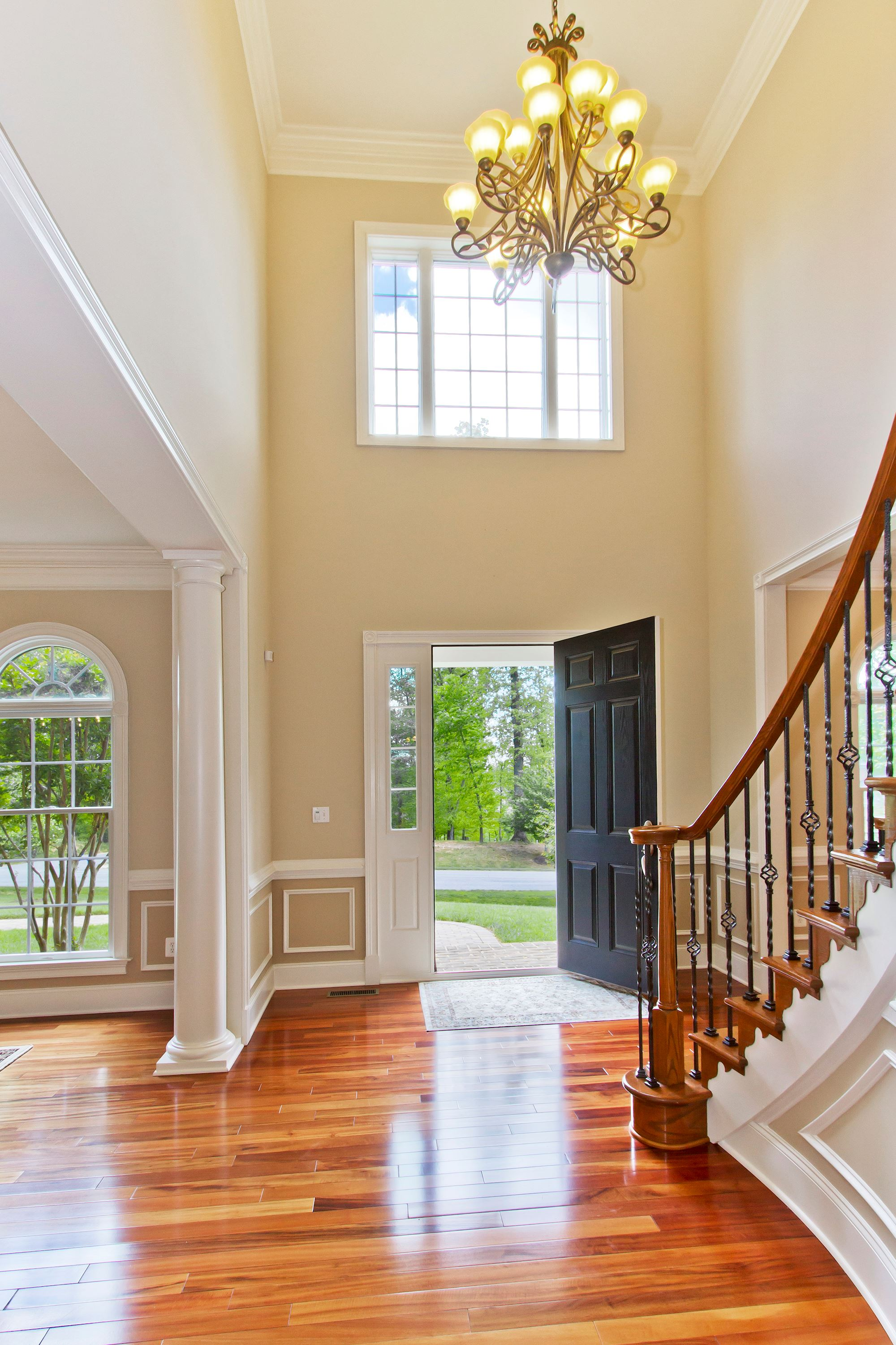 House Foyer Xl : Independence way ellicott city md