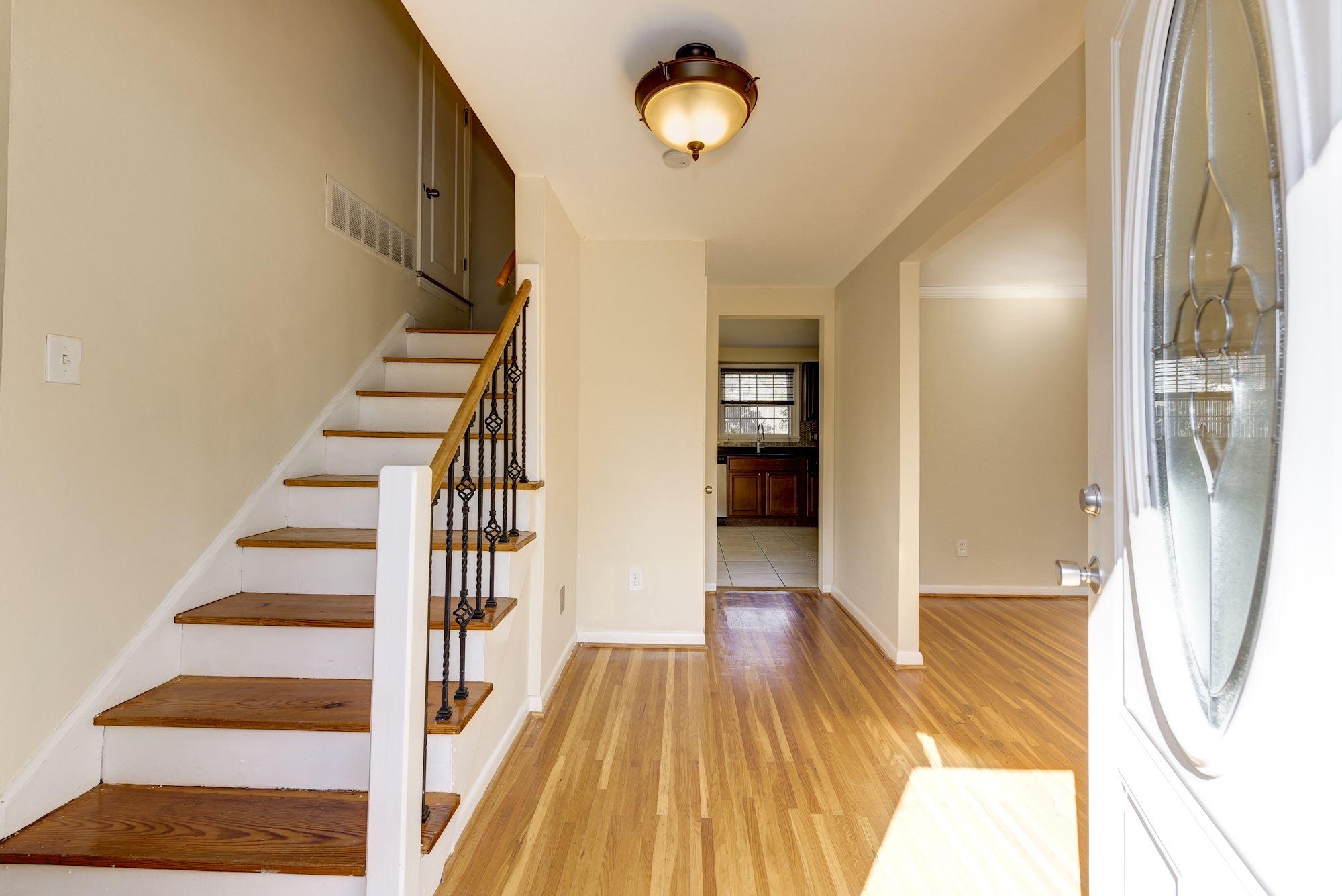 Light Filled Interiors...pretty Hardwoods