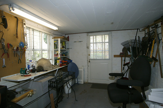 Garden and Tool Room