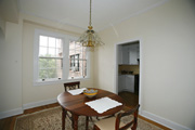 Dining Room with Double Window