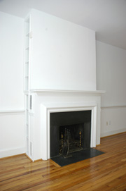 Dining/Living Room Fireplace