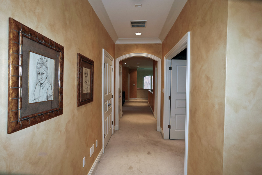 Wide Upstairs Hallway