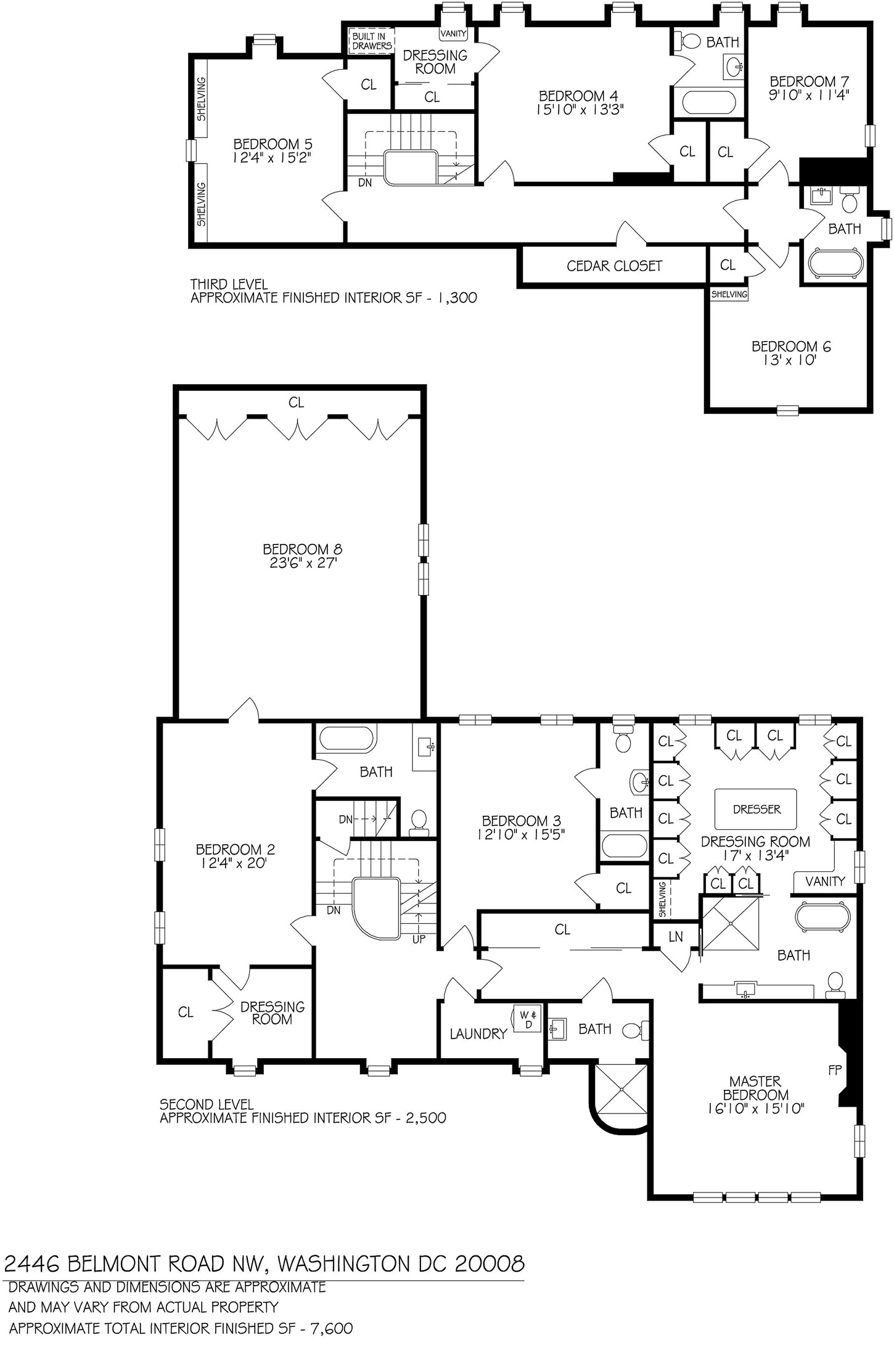 Mark mcfadden presents 2446 belmont rd nw washington dc for Washington house plans