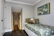 Guest Bedroom with Double Closets