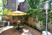 Charming and private Brick Terrace