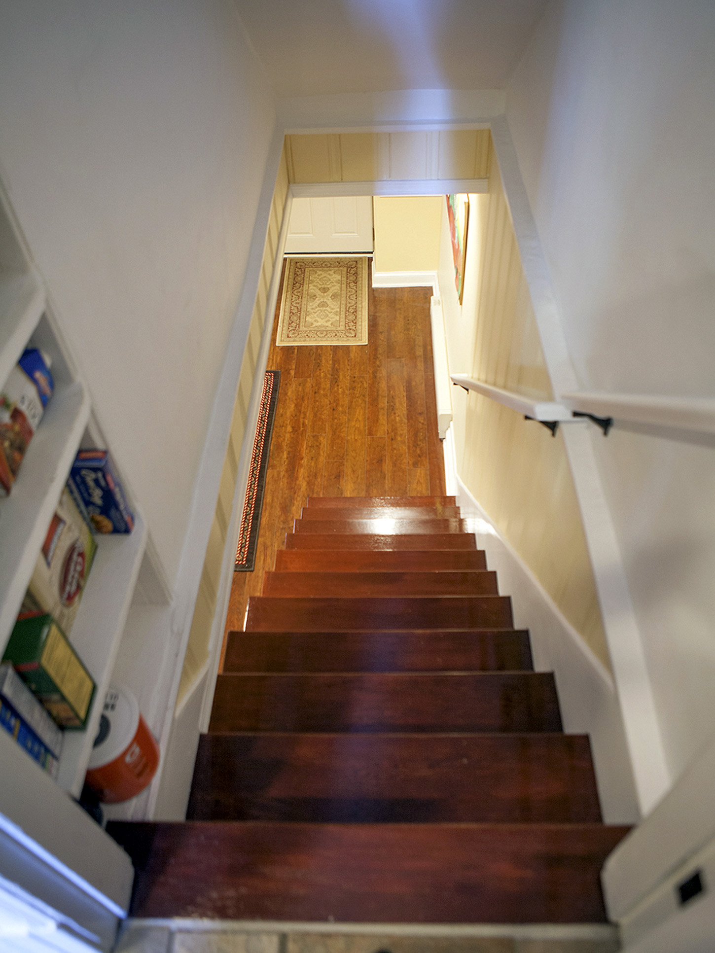 basement stairs looking down. Utility Room Exit  HomeVisit Virtual Tour